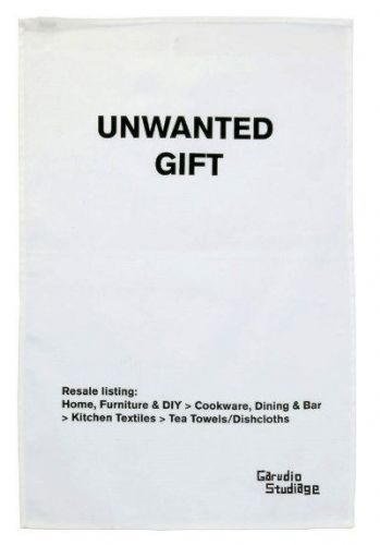 Unwanted Gift Tea Towel